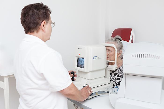 Augeninnendruck messen zur Glaukomvorsorge